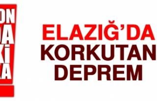 Elazığ'ın Kovancılar İlçesinde Deprem Oldu