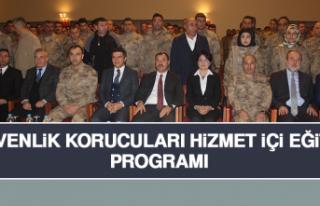 """Elazığ'da """"Güvenlik Korucuları Hizmet İçi..."""