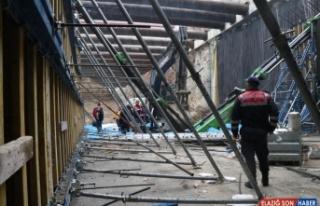 Elazığ'da üzerine vinç bomu düşen işçi öldü