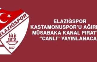 Elazığspor, Kastamonuspor'u Ağırlıyor
