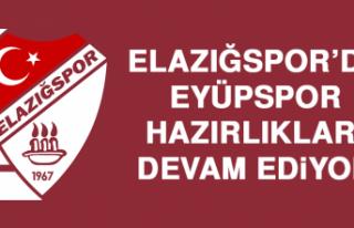 Elazığspor'da Eyüpspor Hazırlıkları Devam...