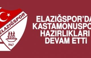 Elazığspor'da Kastamonuspor Hazırlıkları Devam...