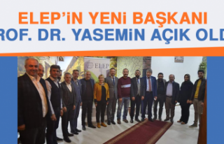 ELEP'in Yeni Başkanı Prof. Dr. Yasemin Açık...