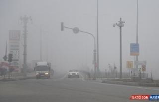Erzurum ve Iğdır'da yoğun sis etkili oldu