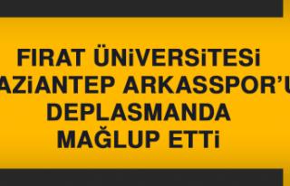 Fırat Üniversitesi, Gaziantep Arkasspor'u Deplasmanda...