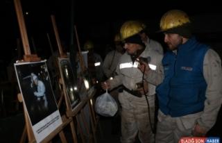 Gazetecilerden 'Dünya Madenciler Günü'nde bir...