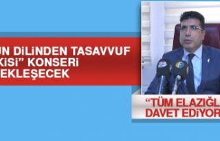 """""""Gülün Dilinden Tasavvuf Musikisi"""" Konseri Gerçekleşecek"""