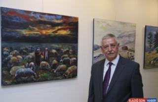 Güzelyayla eski belediye başkanı Sayım Koç, MTSO'da...