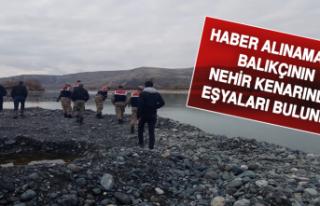 Haber Alınamayan Balıkçının Nehir Kenarında...