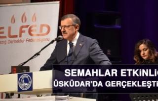 Halkımızın Gülen Yüzü Semahlar' Etkinliği...