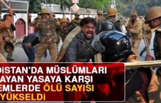 Hindistan'da Müslümanları Dışlayan Yasaya...