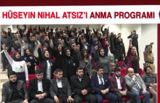 Hüseyin Nihal Atsız'ı Anma Programı
