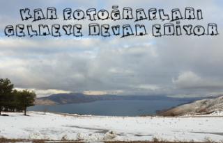 Kar Fotoğrafları Gelemeye Devam Ediyor