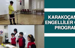 Karakoçan'da Engelliler Günü Programı