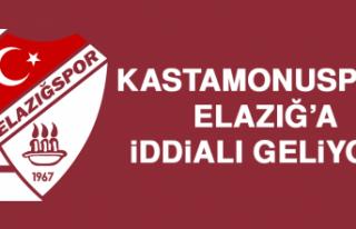 Kastamonuspor, Elazığ'a İddialı Geliyor