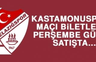 Kastamonuspor Maçı Biletleri Perşembe Günü Satışta…