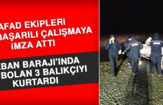 Keban Barajıında Kaybolan 3 Balıkçı Kurtarıldı