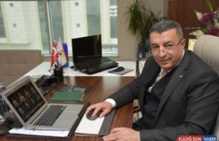 Malatya Ticaret Borsası Başkanı Ramazan Özcan,...