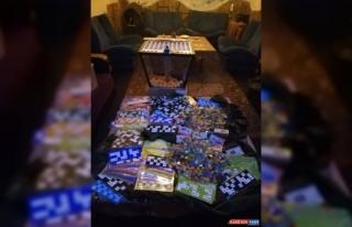 Malatya'da mühürlenen dernekte kumar oynayan 67...