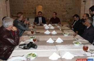 Mardin'in turizmi Artuklu Üniversitesi öğrencileriyle...
