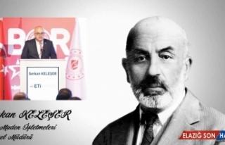 Mehmet Akif Ersoy'un anısına seslendirilen şiir...