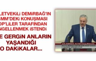 Milletvekili Demirbağ'ın TBMM'deki Konuşması...