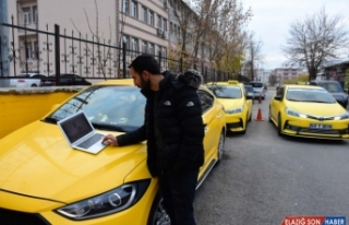 Muşlu taksiciler AA'nın
