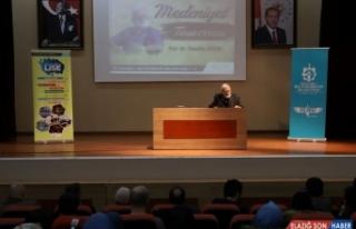 Prof. Dr. Sadettin Ökten, medeniyet konusunda bilgiler...
