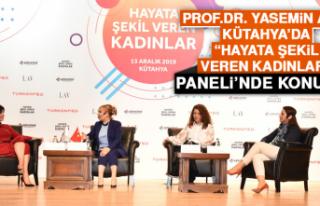 """Prof. Dr. Yasemin Açık, Kütahya'da """"Hayata..."""