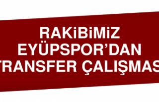 Rakibimiz Eyüpspor'dan Transfer Çalışması