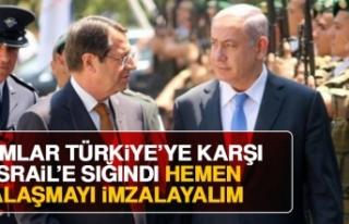 Rumlar Türkiye'ye Karşı İsrail'e Sığındı,...