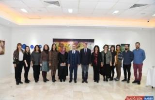 SAÜ'de 'Resim Bölümü Öğretim Elemanları'...