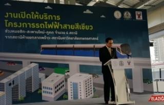 Türkiye'den Tayland'a ihraç edilen metro araçları...