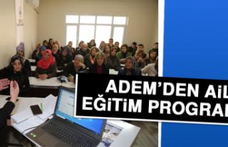 ADEM'den Aile Eğitim Programı