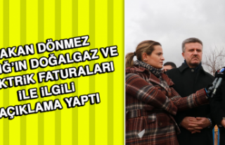 Bakan Dönmez Elazığ'ın Doğalgaz ve Elektrik...