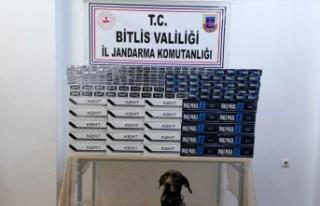 Bitlis'te iki tırda 5150 paket kaçak sigara bulundu