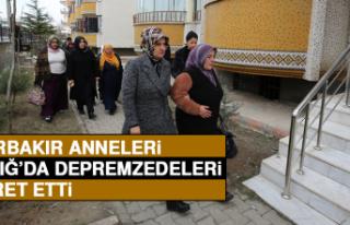 Diyarbakır Annelerinden Elazığ'da Depremzedelere...