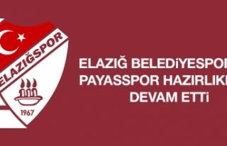 Elazığ Belediyespor'da Payasspor Hazırlıkları...