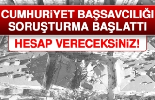 Elazığ Cumhuriyet Başsavcılığı Soruşturma...