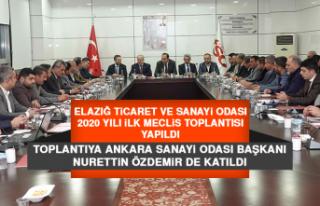 Elazığ TSO 2020 Yılı İlk Meclis Toplantısı...