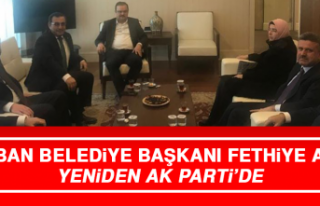 Keban Belediye Başkanı Fethiye Atlı Yeniden AK...