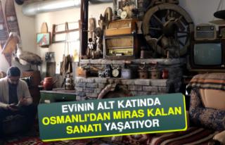 Evinin Alt Katında Osmanlı'dan Miras Kalan...