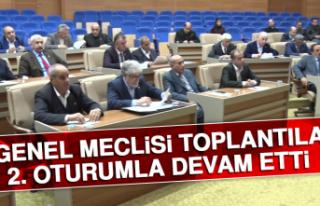 İl Genel Meclisi Toplantıları 2. Oturumla Devam...