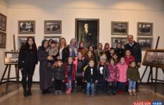 Karaabdülbakili çocuklar Atatürk Müzesine hayran...