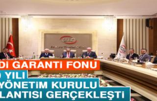 Kredi Garanti Fonu, 2020 Yılı İlk Yönetim Kurulu...
