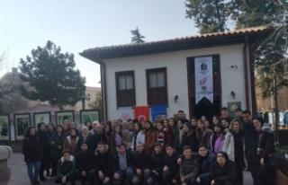 Lise öğrencilerine Ankara gezisi