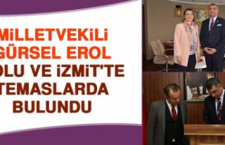 Milletvekili Erol, Bolu ve İzmit'te Temaslarda...