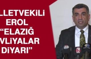 Milletvekili Erol: Kemal Kılıçdaroğlu Elazığ'a...