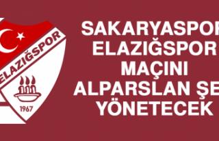 Sakaryaspor - Elazığspor Maçını Alparslan Şen...