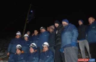 Türk Telekom çalışanları yeni yıla birlikte...